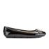 MICHAEL MICHAEL KORS Women's Fulton Patent Leather Moc Pumps - Black: Image 1