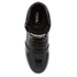 MICHAEL MICHAEL KORS Women's Nikko Leather Hi-Top Wedged Trainers - Black: Image 3