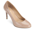 MICHAEL MICHAEL KORS Women's Ashby Leather Court Shoes - Dark Nude: Image 2