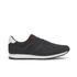 Jack & Jones Men's Fayette Mesh Trainers - Anthracite: Image 1