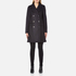 A.P.C. Women's Double Breasted Coat - Navy: Image 1