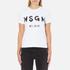 MSGM Women's Logo T-Shirt - White: Image 1