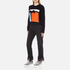 MSGM Women's Contrast Cable Knit and Frill Jumper - Multi: Image 4