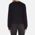MSGM Women's Contrast Cable Knit and Frill Jumper - Multi: Image 3