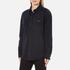 MSGM Women's Logo Back Oversized Denim Shirt - Black: Image 2
