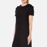 MSGM Women's Frill Sleeve T-Shirt - Black: Image 2