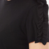 MSGM Women's Frill Sleeve T-Shirt - Black: Image 5