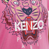 KENZO Women's Tiger Embroidered T-Shirt - Begonia: Image 5