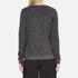 KENZO Women's Tenamie Flower Sweatshirt - Dark Grey: Image 3