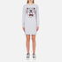 KENZO Women's Tiger Sweater Dress - Light Grey: Image 1