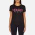 KENZO Women's Paris Rope Logo T-Shirt - Black: Image 1