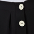 Boutique Moschino Women's Button Shorts - Black: Image 5