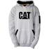 Caterpillar Men's Lightweight Tech Hooded Sweatshirt - Grey: Image 1