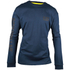 Caterpillar Men's Trademark Long Sleeve T-Shirt - Blue: Image 1