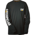 Caterpillar Men's Trademark Long Sleeve T-Shirt - Black: Image 1
