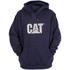 Caterpillar Men's Trademark Sweater Hoody - Blue: Image 1
