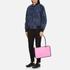 KENZO Women's Kombo East West Tote Bag - Pink/Bordeaux: Image 7