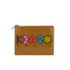 KENZO Women's Occassions A4 Clutch - Tan: Image 1
