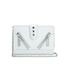 KENZO Women's Kalifornia Wallet on a Chain Crossbody Bag - Light Grey: Image 1
