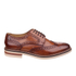 Base London Men's Apsley Brogue Shoes - Camel: Image 1