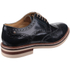 Base London Men's Apsley Brogue Shoes - Blue: Image 2