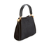 Lulu Guinness Women's Collette Small Leather and Suede Grab Bag  - Black: Image 3