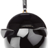 Lulu Guinness Women's Kooky Cat Perspex Orb Clutch - Black: Image 5