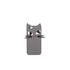 Lulu Guinness Women's Kooky Cat Stripe iPhone 6 Case - Black/White: Image 1