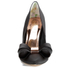 Ted Baker Women's Ichlibi Satin Bow Toe Court Shoes - Black: Image 4