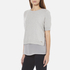 BOSS Orange Women's Texplora Layered Top - Grey: Image 2