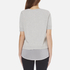 BOSS Orange Women's Texplora Layered Top - Grey: Image 3