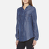 BOSS Orange Women's Emilitye Blouse - Dark Blue: Image 2