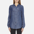 BOSS Orange Women's Emilitye Blouse - Dark Blue: Image 1