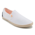 Superdry Men's Deckhand Slip On Trainers - White Mesh: Image 2