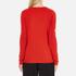 Bella Freud Women's God Created Merino Wool Jumper - Red: Image 3