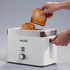 Graef TO61.UK 2 Slice Compact Toaster - White: Image 4