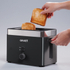 Graef TO62.UK 2 Slice Compact Toaster - Black: Image 4