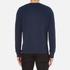 AMI Men's Crew Neck Sweatshirt - Night Blue: Image 3