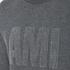 AMI Men's Crew Neck Sweatshirt - Heather Grey: Image 5