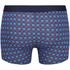 Tommy Hilfiger Men's 3 Pack Icon Trunk Boxer Shorts - Alloy/Samba/Brilliant Blue: Image 3