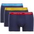 Tommy Hilfiger Men's 3 Pack Premium Essentials Trunk Boxer Shorts - Antique Moss/Brilliant Blue/Samba: Image 1