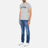Tommy Hilfiger Men's Organic Cotton T-Shirt - Grey Heather: Image 4