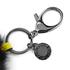 Rebecca Minkoff Women's Fur Pom Pom - Black: Image 3