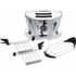Bugatti 13-VOLOCR Volo 2 Slice Toaster - Silver: Image 4