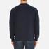 Barbour Heritage Men's Standards Sweatshirt - Navy: Image 3