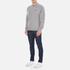 Barbour Heritage Men's Standards Sweatshirt - Grey Marl: Image 4