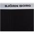 Bjorn Borg Men's Contrast Solids Triple Pack Boxer Shorts - Black: Image 8