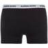 Bjorn Borg Men's Contrast Solids Triple Pack Boxer Shorts - Black: Image 5