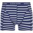 Bjorn Borg Men's 3 Pack Stripe Detail Boxer Shorts - Sodalite Blue: Image 4
