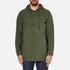OBEY Clothing Men's Slugger Fishtail Parka Jacket - Dark Army: Image 1